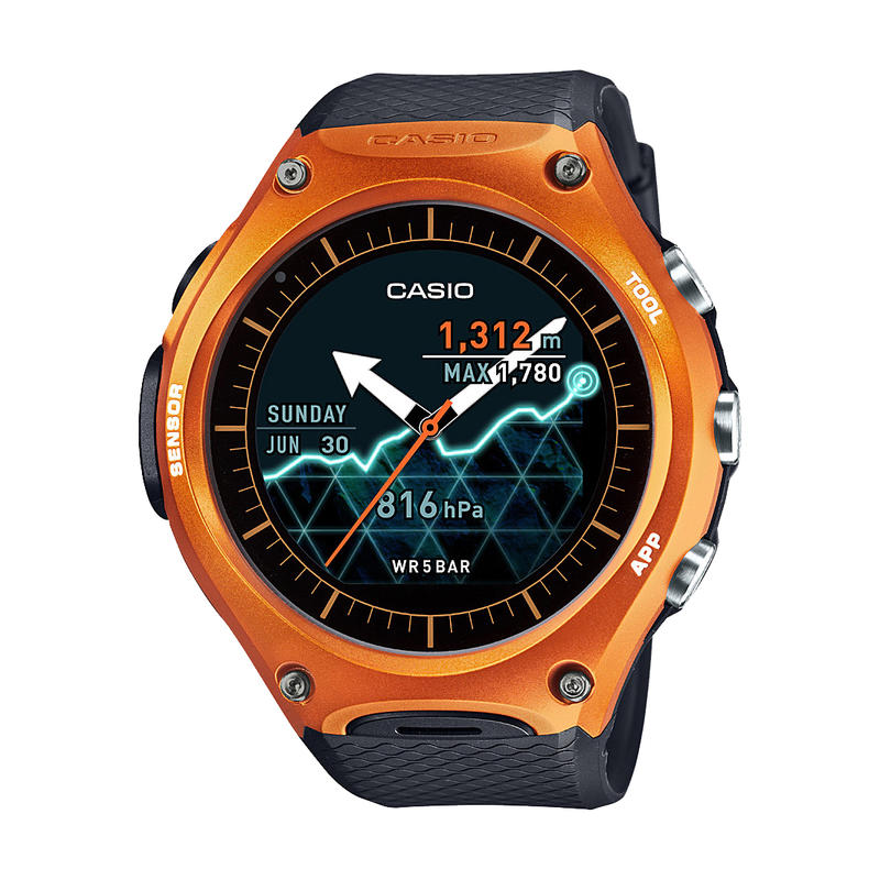 Smart Outdoor Watch Orange