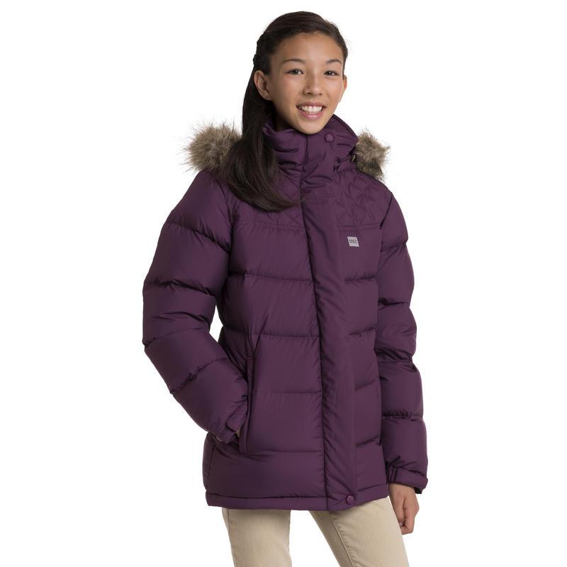 Manteau Apres Ski Mûre rouge