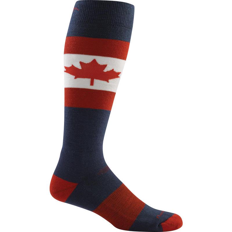 Chaussettes de ski légères Érable O Canada