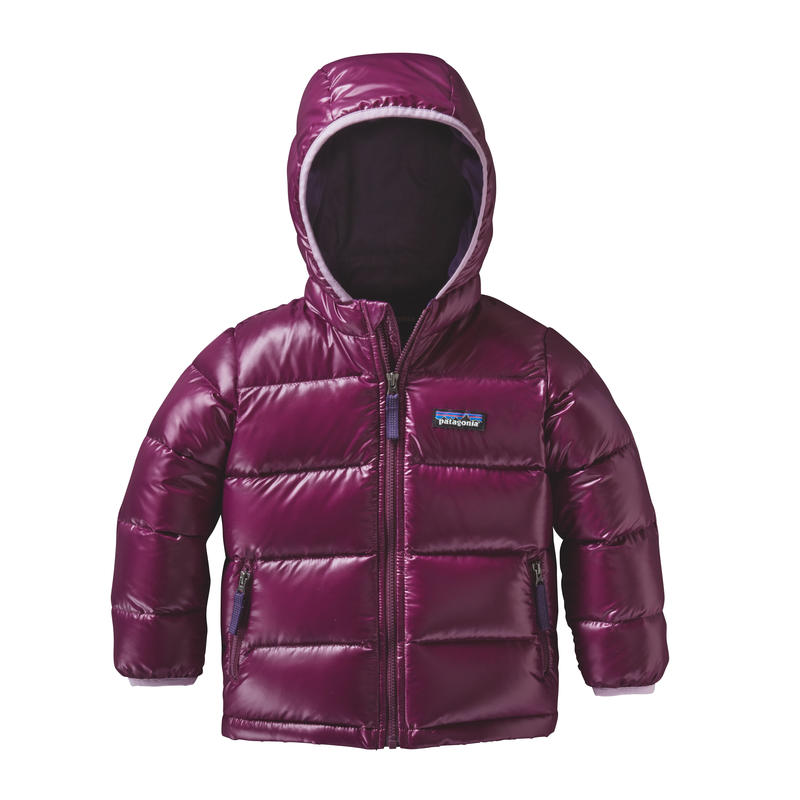 Manteau Hi-Loft en duvet Rouge violet