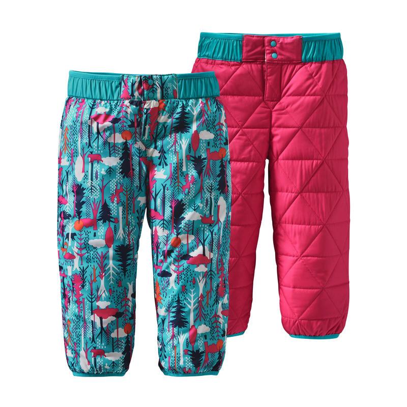 Pantalon réversible Puff-Ball Amis des pins/Bleu épique