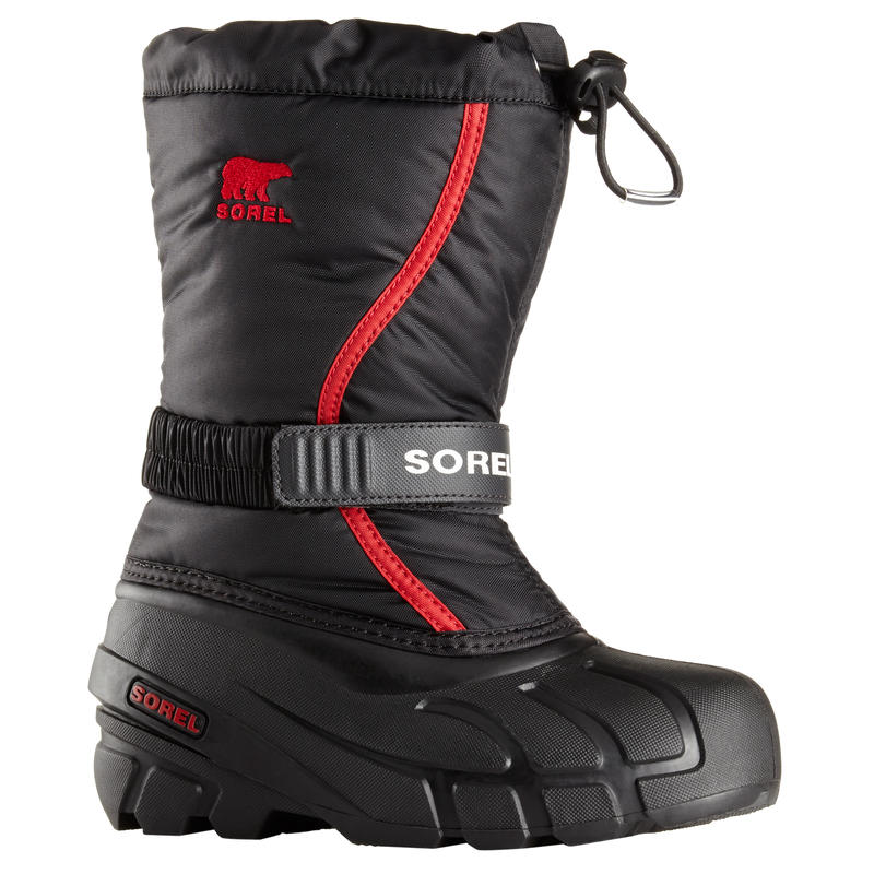 Flurry TP Winter Boots Black/Bright Red