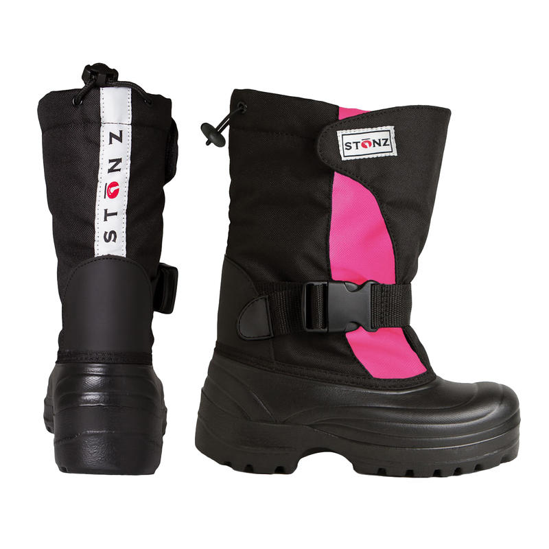 Trek Winter Boots Pink/Black