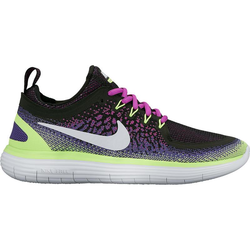 Chaussures de course sur route Free Run Distance 2 Hyper violet/Vert fantôme