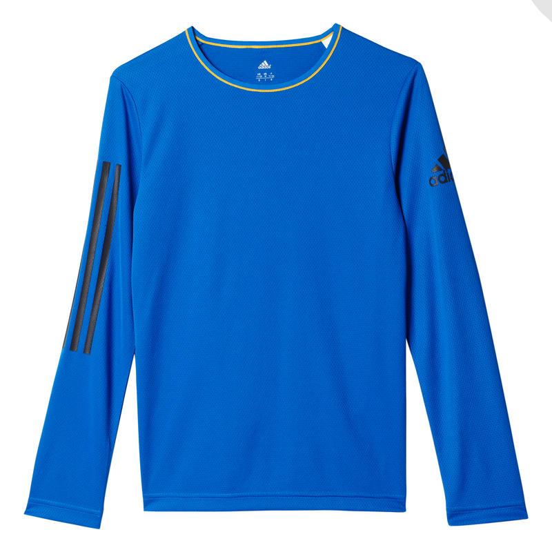 Maillot Gym à manches longues Bleu/Noir utilitaire