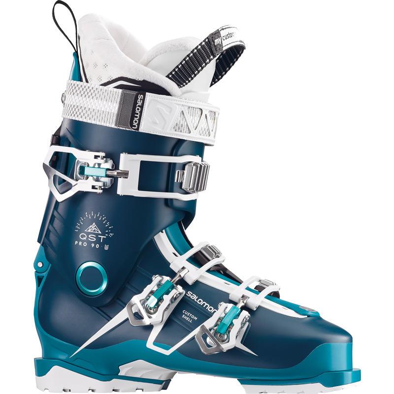 Bottes de ski QST Pro 90 Bleu pétrole/Bleu/Aqua