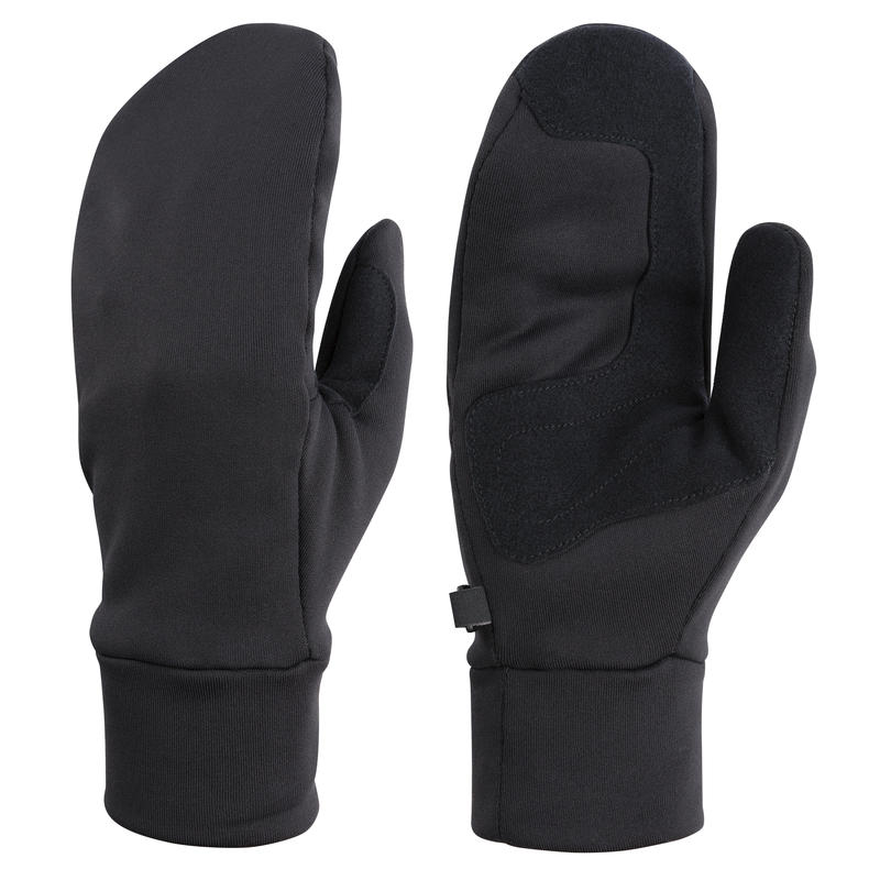 Goto Fleece Mitts Black