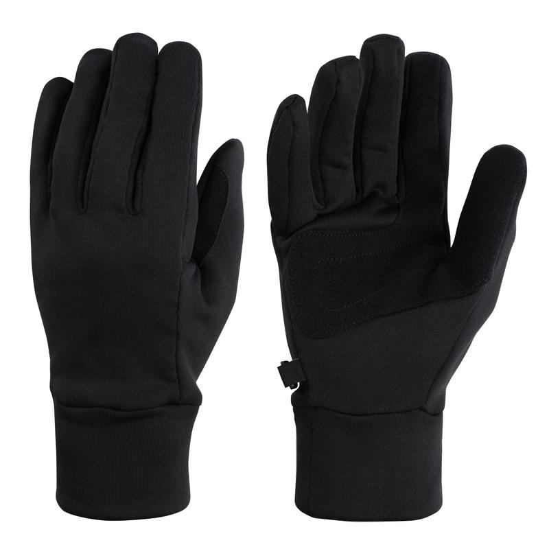 Goto Fleece Gloves Black