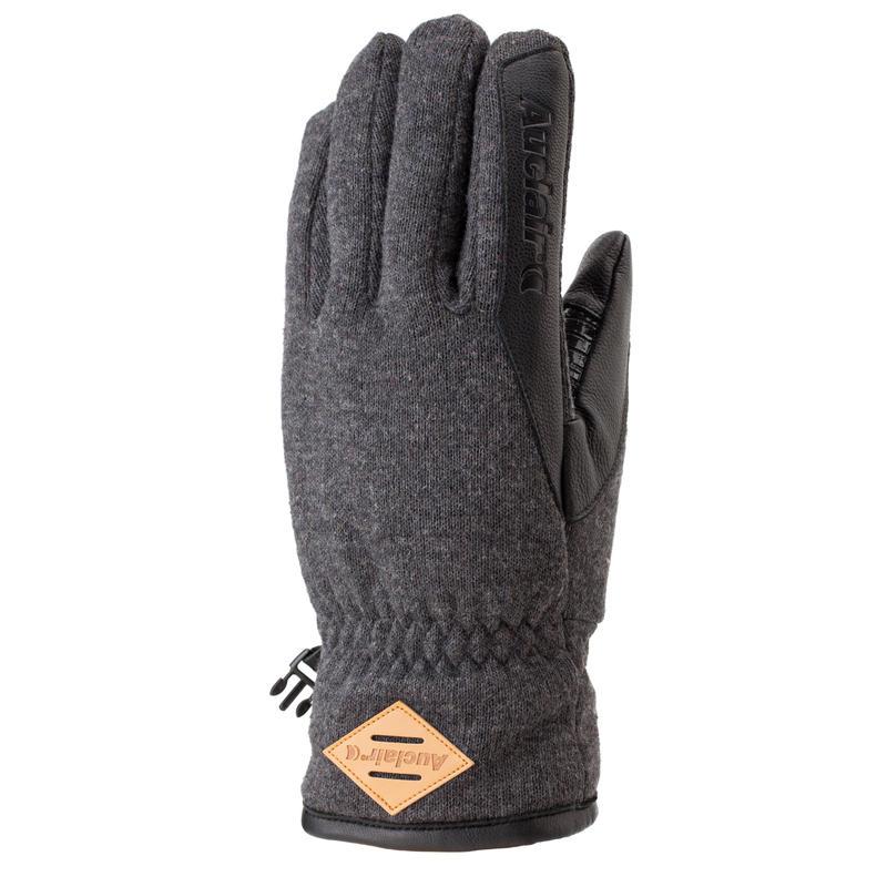 Gants AT Noir gris chiné