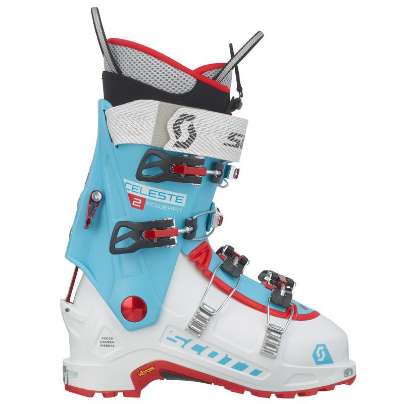 Bottes de ski Celeste II Blanc/Bleu