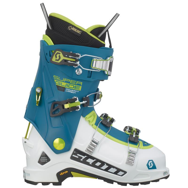 Bottes de ski Superguide Carbon GTX Blanc/Bleu