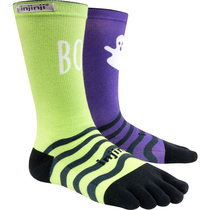 RUN Lightweight Crew Socks Boo