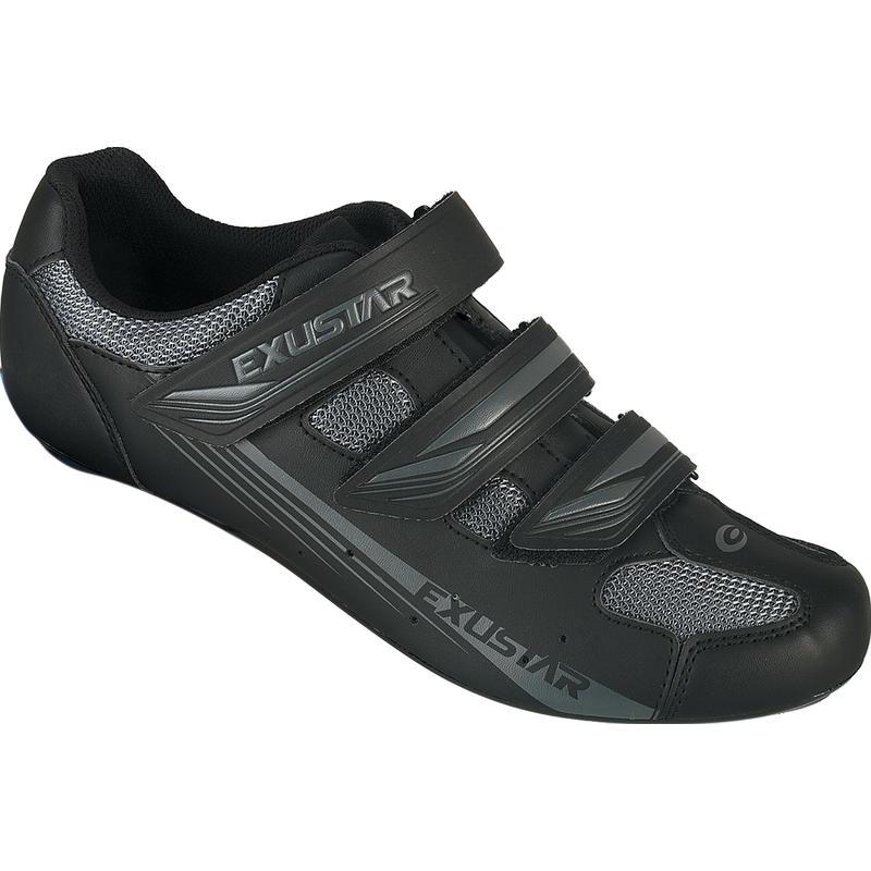 Chaussures de vélo de route SR4123 Noir/Gris