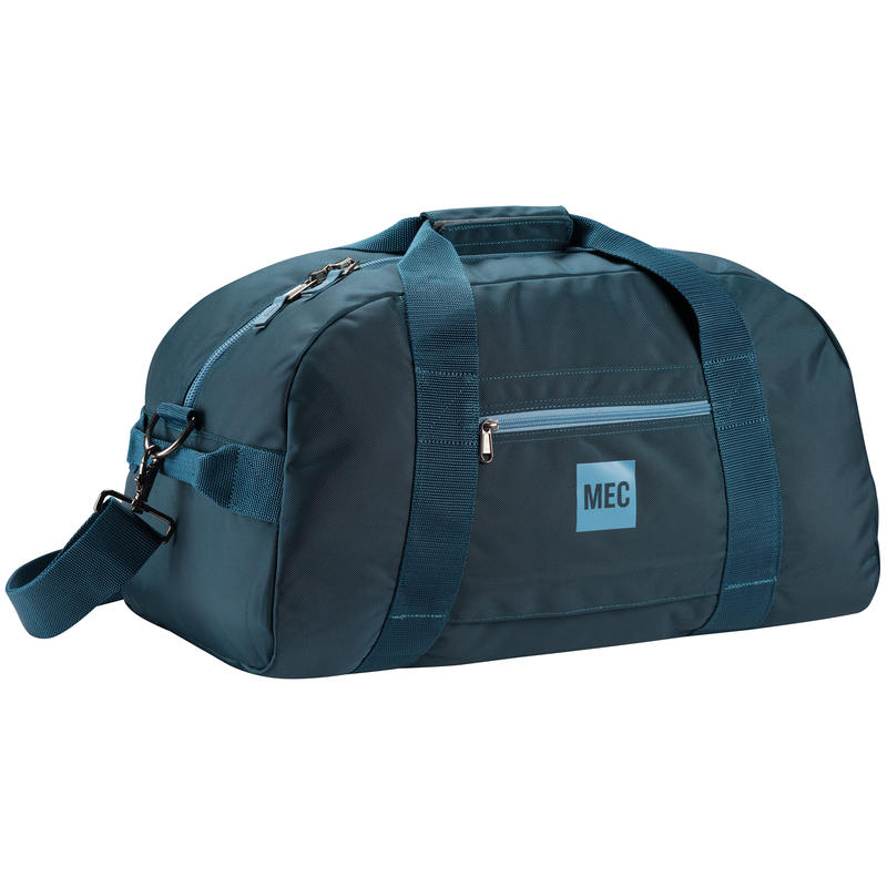 Duffle Bag Blue Depth