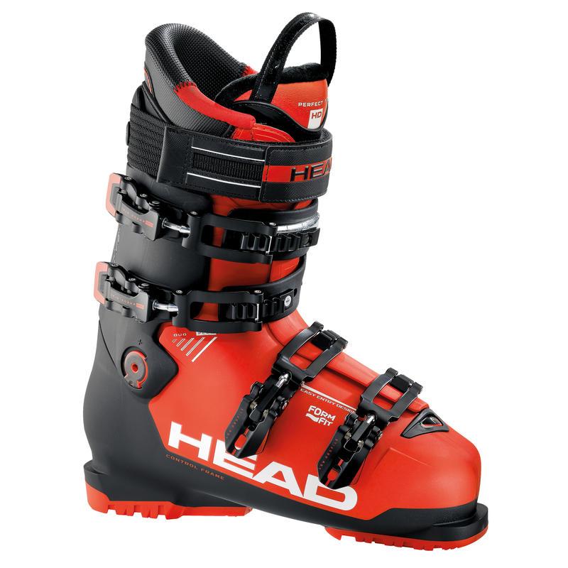 Bottes de ski Advant Edge 105 Noir/Rouge