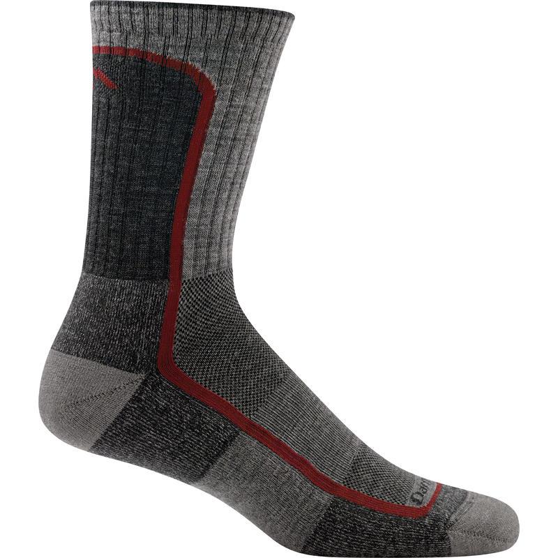 Light Hiker Micro Crew Socks Smoke/Cranberry