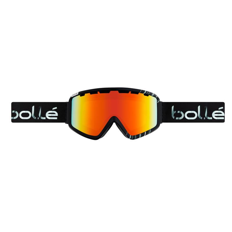 Lunettes de ski Z5 OTG Noir et blanc luisants/Lever de soleil