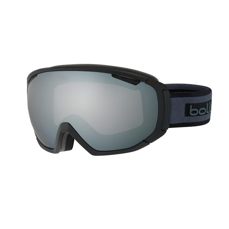Lunettes de ski Tsar Gris noir mat/Chrome noir
