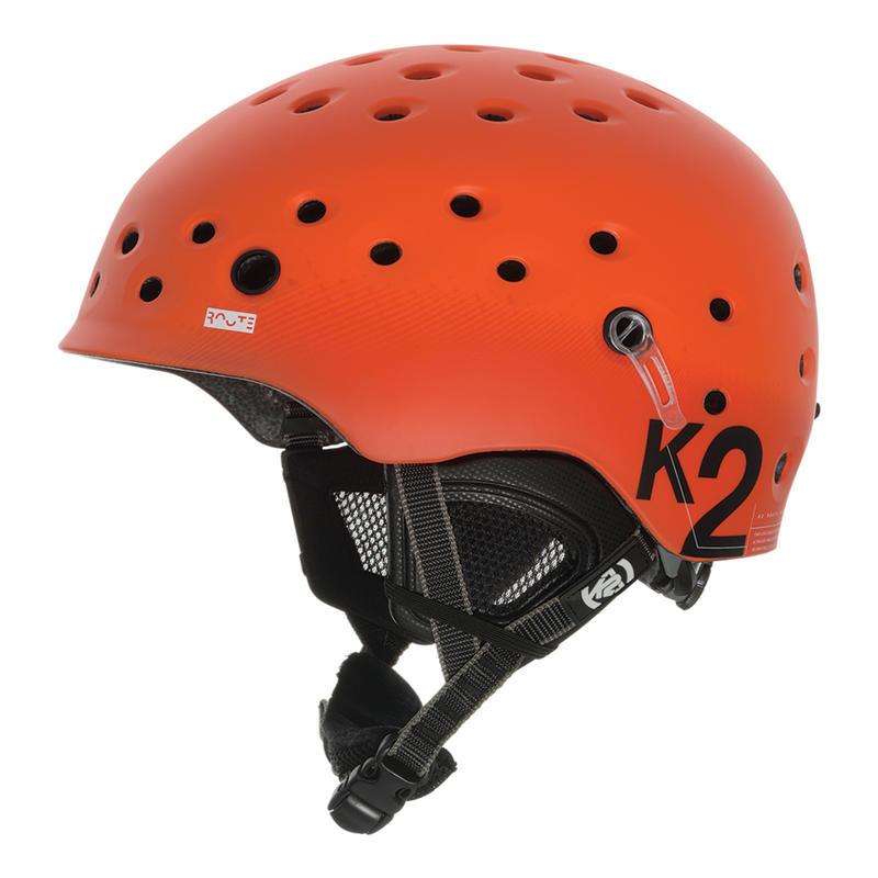 Route Snow Helmet Orange