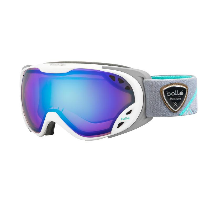 Lunettes de ski Duchess Blanc et gris/Aurore