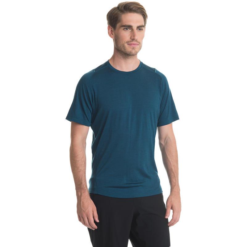 Argo Merino Short Sleeve Tee Blue Depth