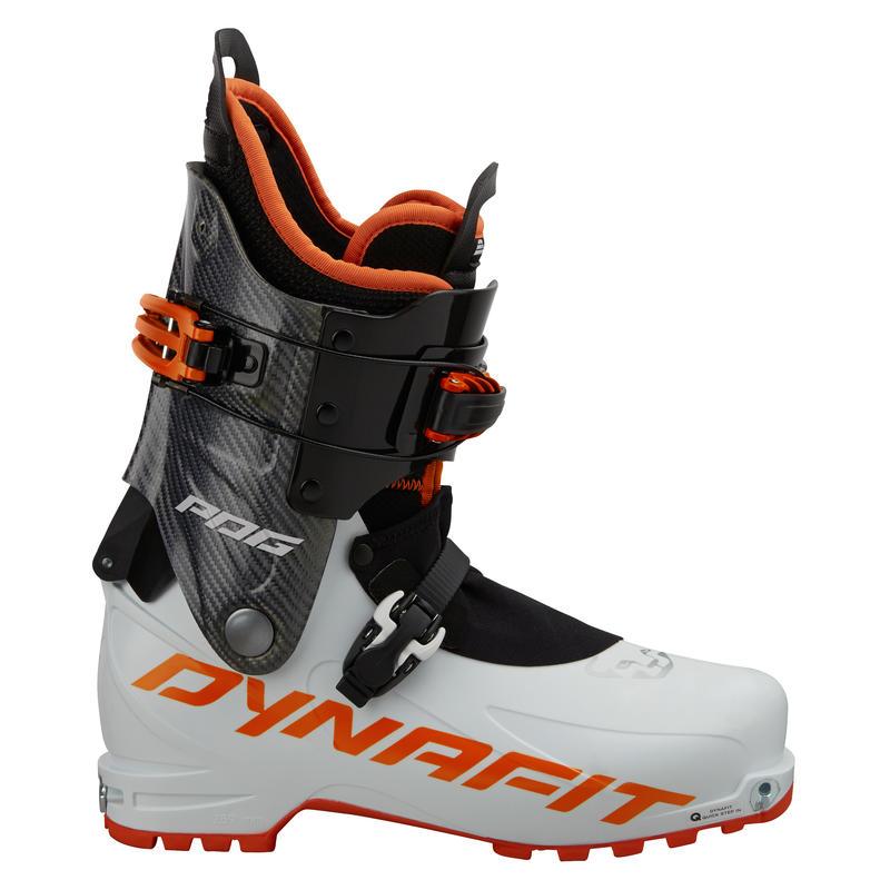 Bottes de ski PDG Blanc/Orange