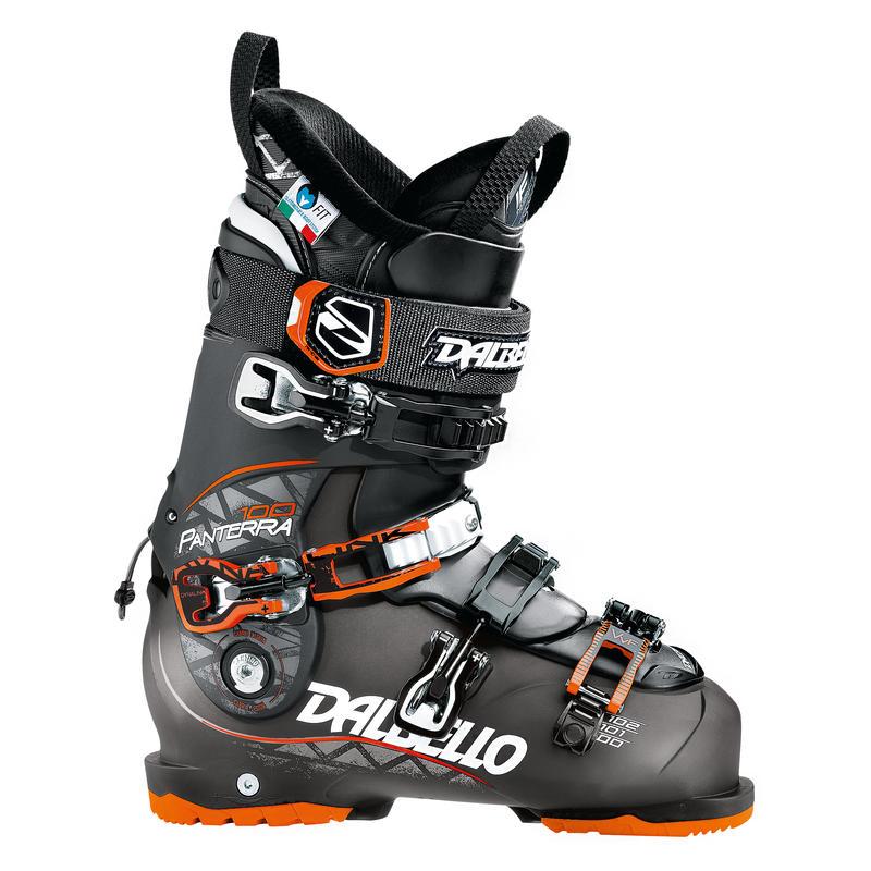 Bottes de ski Panterra 100 Noir transparent/Noir