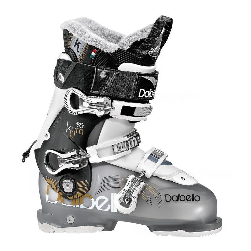 Bottes de ski Kyra 85 Noir transparent/Noir