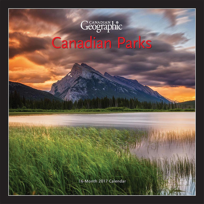 Calendrier Canadian Parks 2017