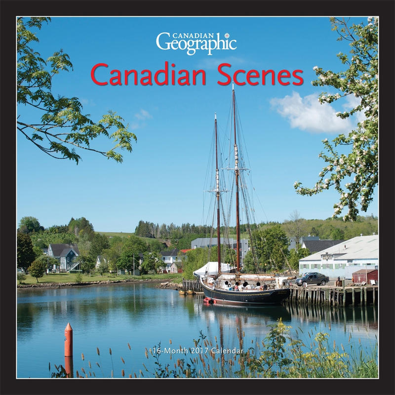 Calendrier Canadian Scenes 2017