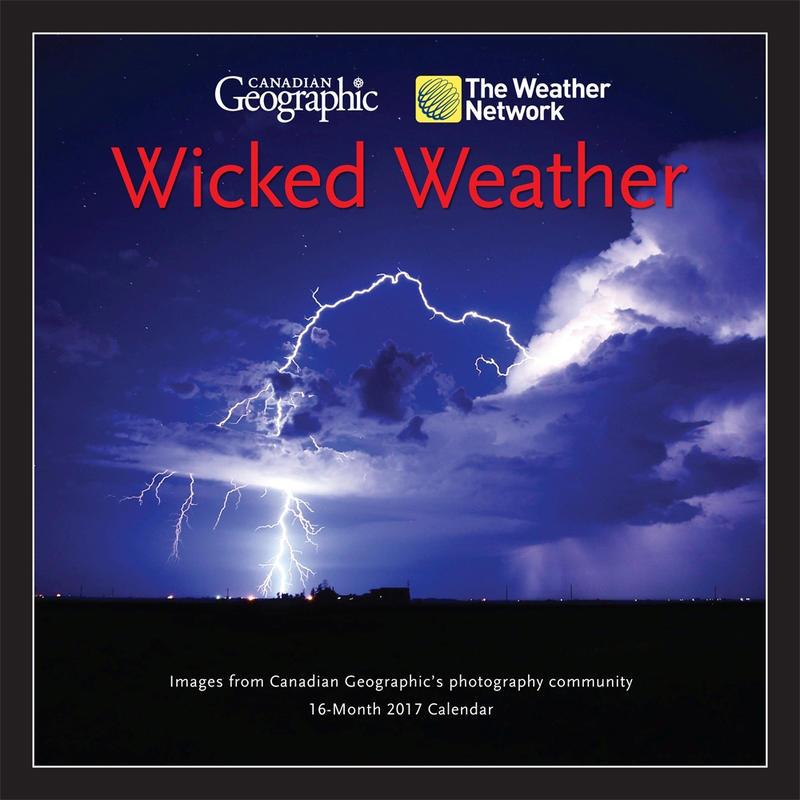 Calendrier Wicked Weather 2017