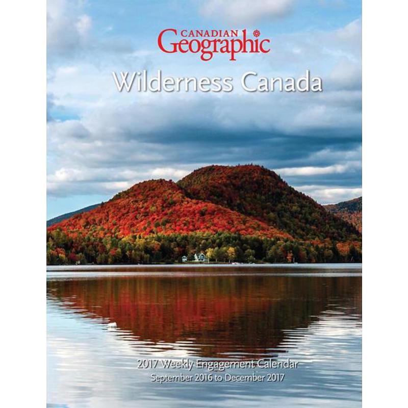 Calendrier-agenda Wilderness Canada 2017