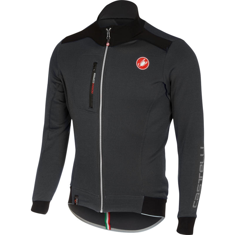 Maillot Potenza à manches longues Anthracite