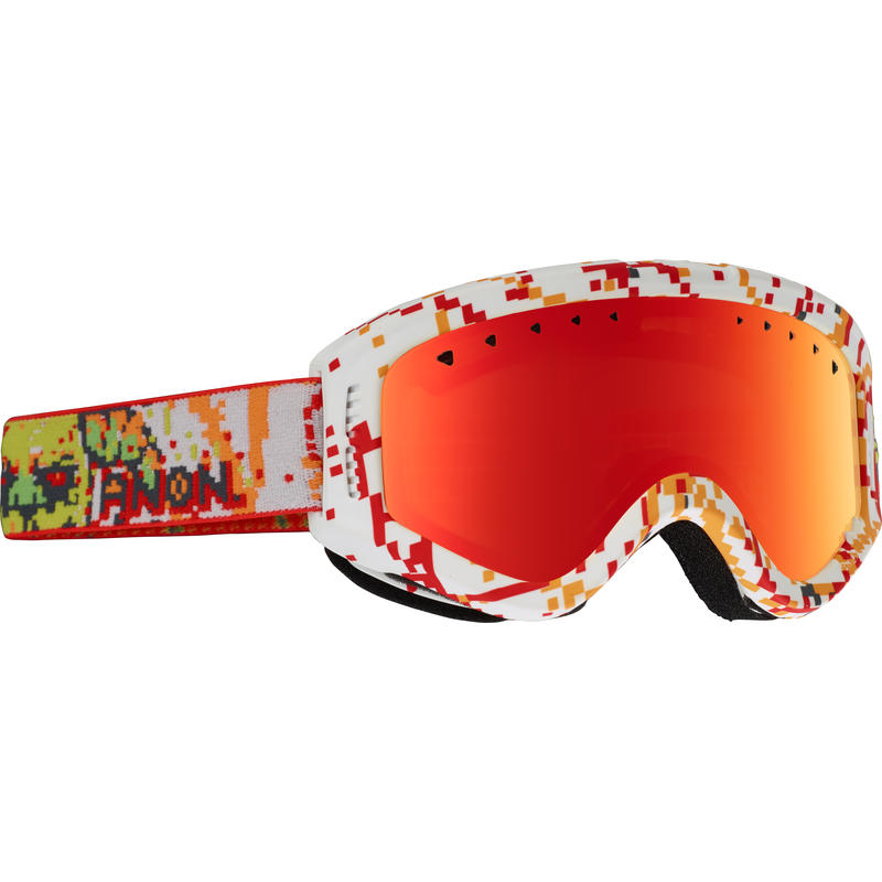 Tracker Goggles 8Bit/Red Amber