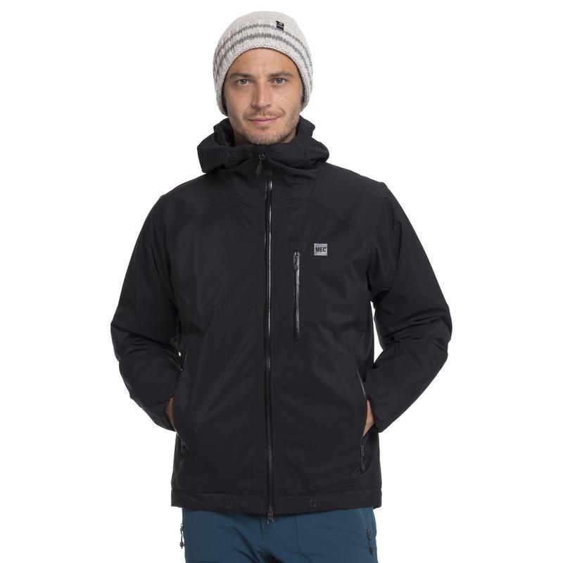Manteau à capuchon Socked-in Noir