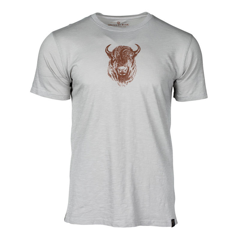 T-shirt Bison Sketch Calcaire