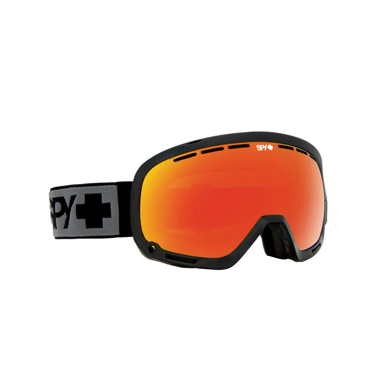 Lunettes de ski Marshall Noir/Spectre rouge bronze