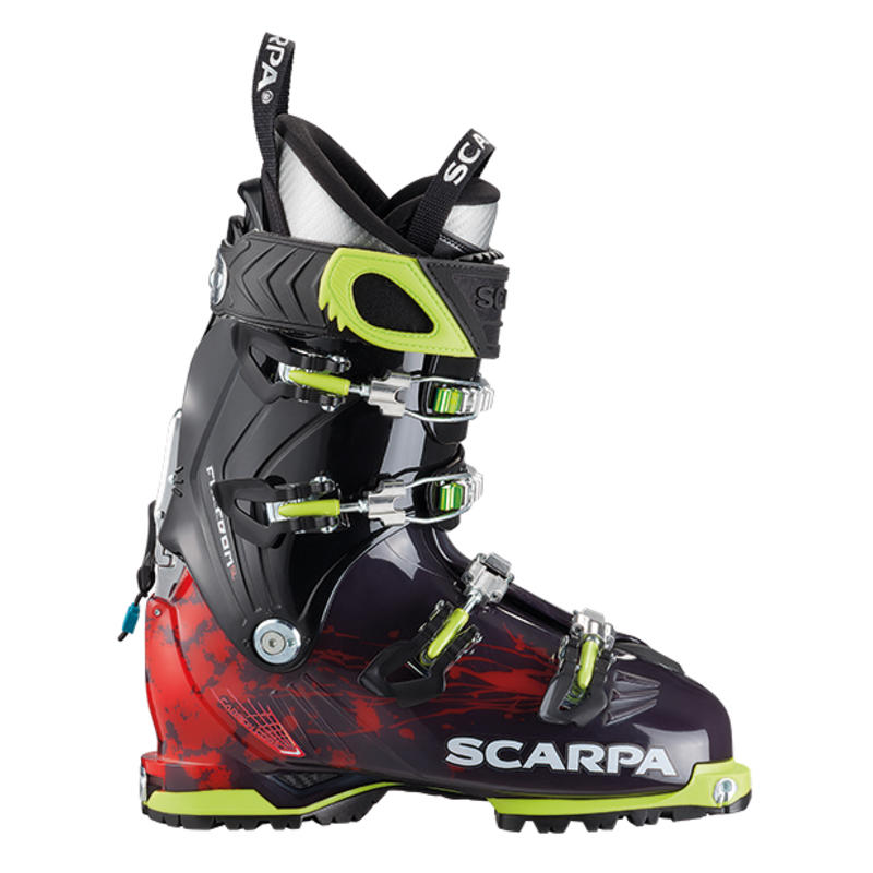 Bottes de ski Freedom SL Anthracite/Orange rouge