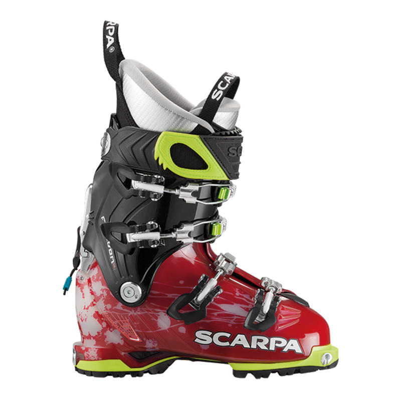 Bottes de ski Freedom SL Écarlate/Blanc