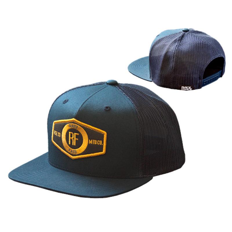 10-4 Mesh Snap Back Hat Navy