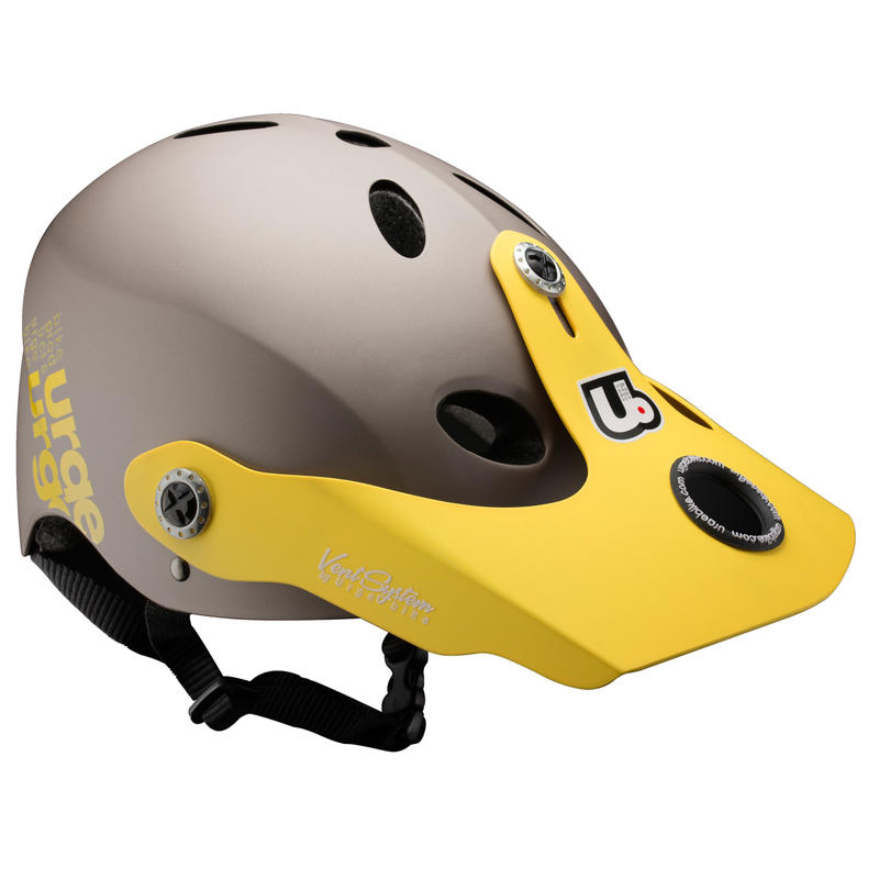 Casque de vélo All-In Gris/Jaune