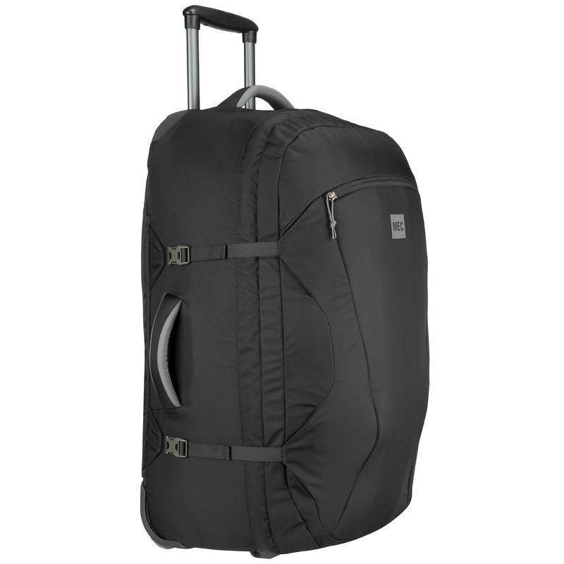 Rolling Continent Travel Pack Black/Asphalt
