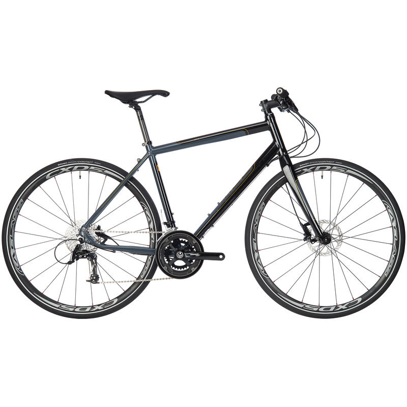 Adanac 500 Bicycle Grey/Black