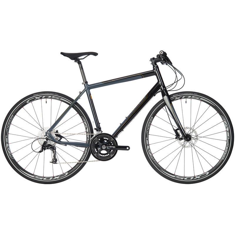 Adanac 500 Bicycle Grey/Black