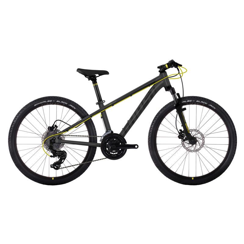 Vélo Kato 24 Noir/Jaune néon