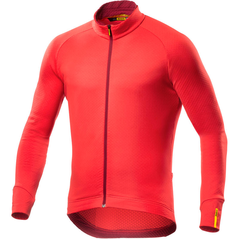 Maillot Aksium Thermo à manches longues Rouge course