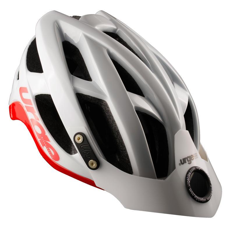 Casque de vélo SeriAll Blanc/Rouge