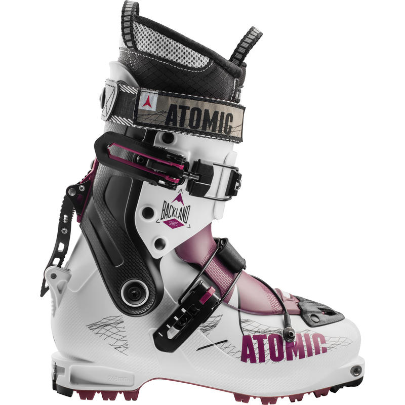 Bottes de ski Backland Blanc/Baies