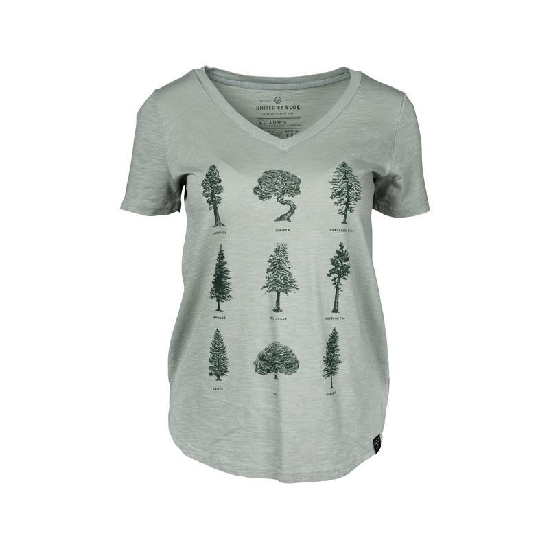 T-shirt Evergreen Sauge