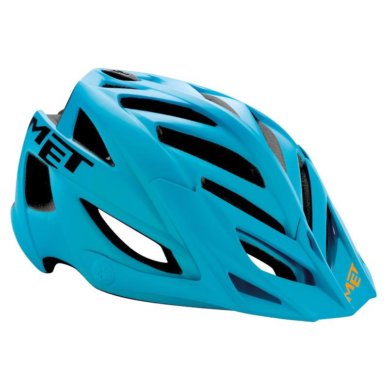 Terra Bicycle Helmet Matt cyan/black